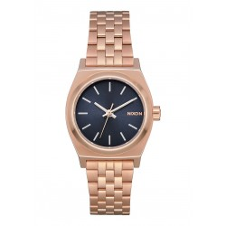 MONTRE NIXON SMALL TIME TELLER - ROSE GOLD / STORM