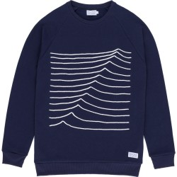 SWEAT BASK IN THE SUN SWELL - NAVY