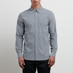CHEMISE VOLCOM OXFORD STRETCH MANCHES LONGUES - BLACK