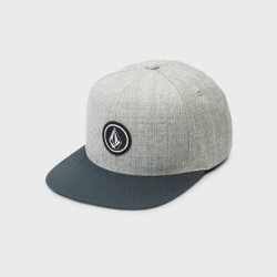 CASQUETTE VOLCOM QUARTER SNAPBACK KID - NAVY GREEN GREY