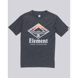 T-SHIRT ELEMENT KID LAYER BOY - CHARCOAL HEATHER