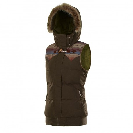 VESTE PICTURE ORGANIC HOLLY - BROWN