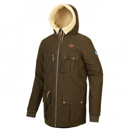 VESTE PICTURE ORGANIC VERMONT '19 - BROWN