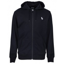 SWEAT SANTA CRUZ GHOST LADY ZIP HOOD - BLACK