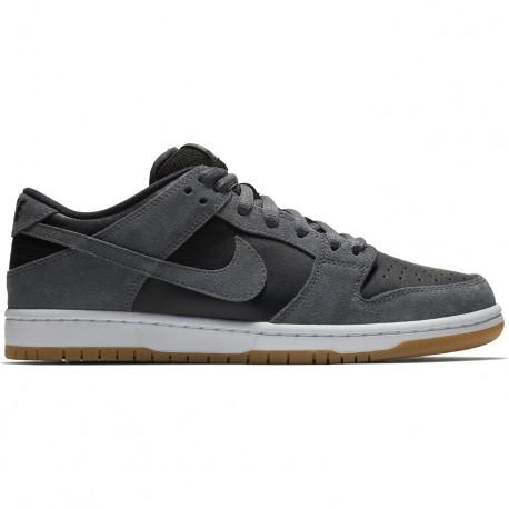 Chaussure Nike Sb Dunk Low Dark Noir Gris   Noir Dark e005ba