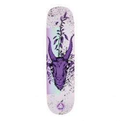 BOARD WELCOME GOATHEAD ON AMULET - 8.125""