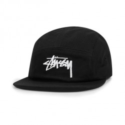 CASQUETTE STUSSY STOCK CAMP CAP - BLACK