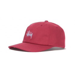 CASQUETTE STUSSY STOCK LOW PRO CAP - RED