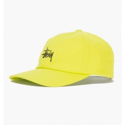 CASQUETTE STUSSY STOCK LOW PRO CAP - LIME
