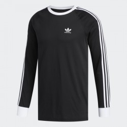 T-SHIRT ADIDAS SB CALIFORNIA 2.0 LS - BLACK WHITE