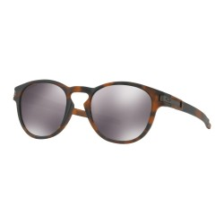 LUNETTES OAKLEY LATCH MATTE BROWN -TORTOISE - PRIZM BLACK