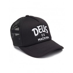 CASQUETTE DEUS EX MACHINA CURVY TRUCKER - BLACK