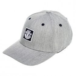 CASQUETTE ELEMENT TREELOGO BOY CAP - GRIS CHINÉ
