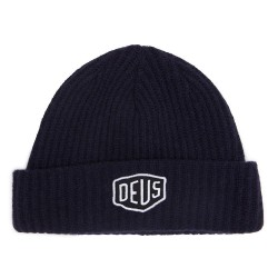 BONNET DEUS EX MACHINA SHIELD BEANIE BLACK