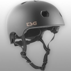 CASQUE TSG META SOLID COLOR - SATIN BLACK