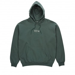 SWEAT POLAR STROKE LOGO - GREY GREEN