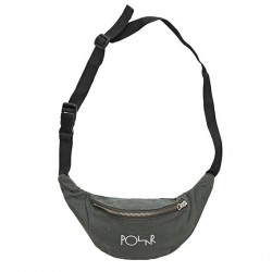 SAC BANANE POLAR HIP BAG SCRIPT LOGO - GREY GREEN