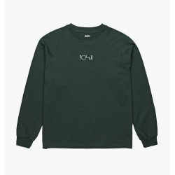 T-SHIRT POLAR DEFAULT LS TEE - DARK GREEN