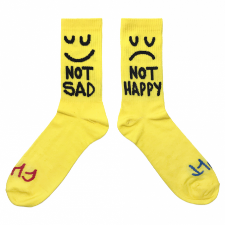 CHAUSSETTES CULT THIS NIGHT - YELLOW