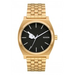 MONTRE NIXON X DISNEY TIME TELLER - GOLD BLACK MICKEY HAND
