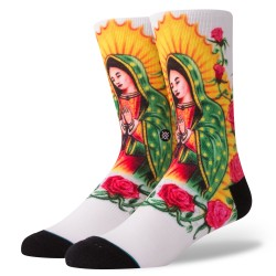 CHAUSSETTES STANCE ANTHEM MARY - WHITE