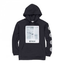 SWEAT ELEMENT INSTANT HOOD POLAROID - FLINT BLACK