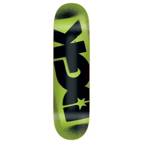 BOARD DGK PP FLUORESCENT LOGO - GREEN 8.25