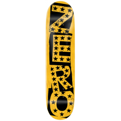 BOARD ZERO PUNK STARS HYB BLACK YELLOW 8.25