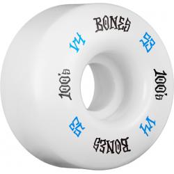 ROUES BONES 100'S V4 WHITE 53MM