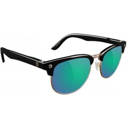 LUNETTES GLASSY MORRISON POLARIZED - BLACK / GREEN MIRROR