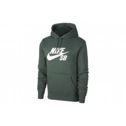 2ff70ec8f77c9 Sweat Nike Sb Icon Po Hoodie Essential - Midnight Green white
