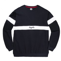 SWEAT MAGENTA CREWNECK 96 - NAVY WHITE