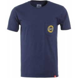 T-SHIRT SPITFIRE FLYING CLASSIC - NAVY / YELLOW