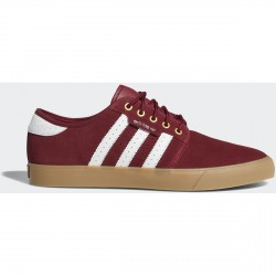 CHAUSSURES ADIDAS SEELEY - BURGUNDY GOLD