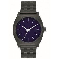 MONTRE NIXON TIME TELLER - ALL BLACK DARK BLUE