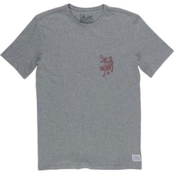 T-SHIRT ELEMENT RODEO - GREY HEATHER