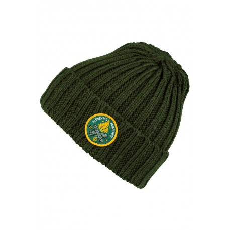 BONNET ELEMENT EA LOGO BEANIE - OLIVE DRAB