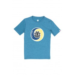 T-SHIRT ELEMENT KIDS YANG - BLUE STEEL HEATHER