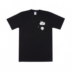 T-SHIRT RIPNDIP NERMAMANIAC - BLACK