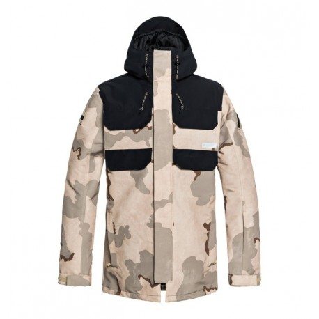 VESTE SNOW DC SHOES HAVEN - INCENSE DCU CAMO MEN