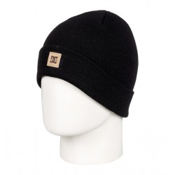 BONNET DC SHOES KIDS LABEL - BLACK
