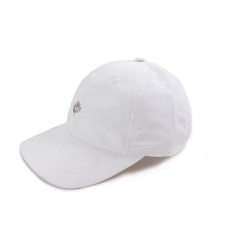 CASQUETTE MAGENTA DAD CAP - WHITE NYLON