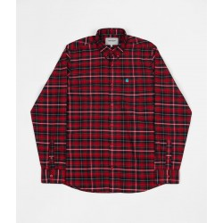 CHEMISE CARHARTT WIP PATTON CHECK - BLAST RED