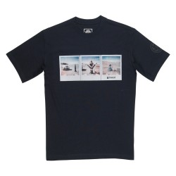 T-SHIRT ELEMENT POLAROID NICK GARCIA - FLINT BLACK
