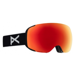 MASQUE ANON M2 MFI - BLACK SONAR RED