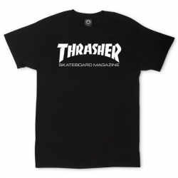 T-SHIRT THRASHER SKATE MAG - BLACK
