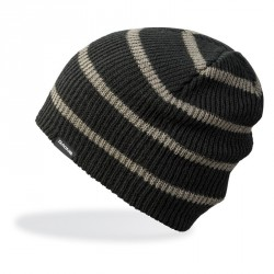 BONNET DAKINE TALL BOY STRIPE - BLACK CHARCOAL