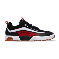 CHAUSSURES DC LEGACY 98 SLIM - BLACK RED WHITE
