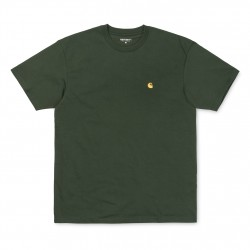 T-SHIRT CARHARTT WIP CHASE - LODEN GOLD