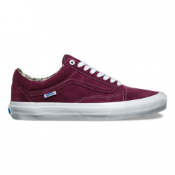 CHAUSSURES VANS OLD SKOOL PRO -OG BURGUNDY